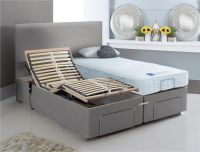 Mibed Rose Medium Firm Dual Operated Adjustable Bed