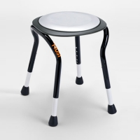 Lets Frisbee Adjustable Height Shower Stool