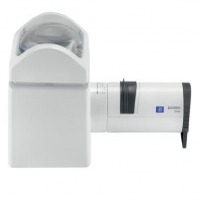 Eschenbach Illuminated Stand Magnifier With Yellow Filter And Led Battery Handle