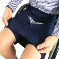 Men's Drop Front Wheelchair Shorts