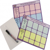Visual Schedule Day Planner Boards