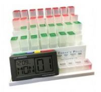 Medcente Daily Tablet Storage Organiser