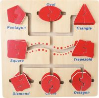 Shapes Motor Skills Activity Board