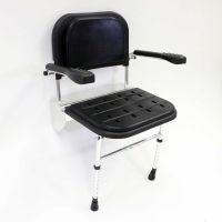 Nymas Premium Folding Wall Mounted Padded Shower Seat