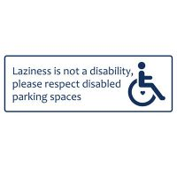 Variety Of Disability Message Stickers