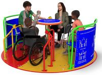 Abilitywhirl Self Propelled Inclusive Roundabout