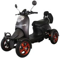 Electric Mobility Four Wheel Scooter Mod