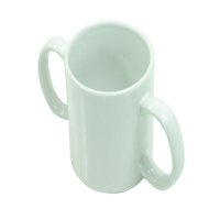 Two Handled Ceramic Cup