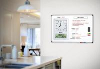 Viso Memoday Reminder Board with Clock