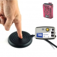 Wireless Touch Sensitive Easy Press Call Button & Pager Set