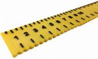 Tactile Yellow Ruler
