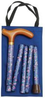 Classic Canes Slimline Folding Handbag Cane