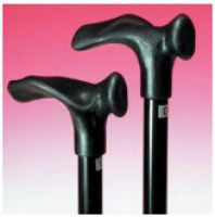 Small Handle Adjustable Comfort Grip Walking Stick