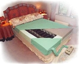 Combination filled mattresses