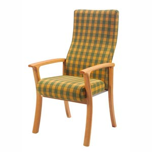 Chairs with splayed legs category