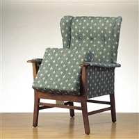 Chairs with manual seat riser