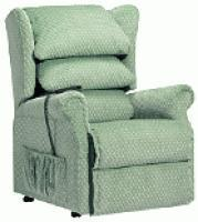 Riser recliner chairs with single motor - seat width 50cm and below