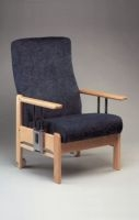 Chairs with removable or drop down armrests for heavy duty use category