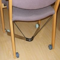 Chair castors and movers