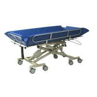 Shower stretchers, trolleys and benches for bariatric use category