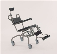Mobile shower, over toilet & commode chairs with manual tilt category