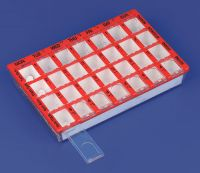 Pill organisers and dosette boxes category
