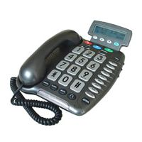 Telephone equipment for users who are deaf or with hearing loss