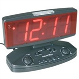 Flashing alarm clocks