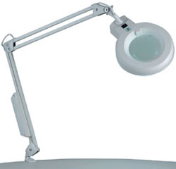 Magnifiers - mounted or placed on furniture, floor or wall category