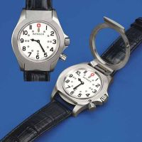 Watches with clear visual and/or tactile display category