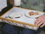 Image of tray with bean filled base