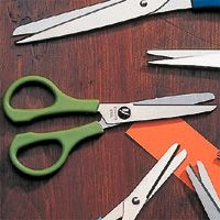 Craft scissors with non-standard features