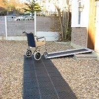 Path tracks and netting for gardens category