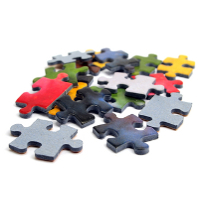 Word puzzles and puzzle accessories