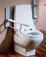 Toilets with integral wash and dry facility