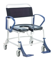 Commode & shower chairs for users over 190kg