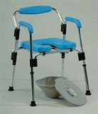 Static shower, over toilet & commode chairs category