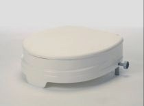 Raised toilet seats with lids category