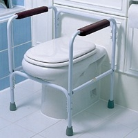 Toilet frames without seats category