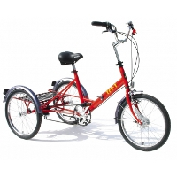 Foot propelled chain drive tricycles category