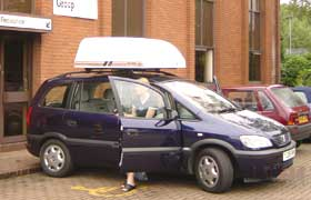 Hoists or lifts; unoccupied wheelchairs - lift onto car roof or car door category