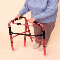 Non-wheeled folding pulpit frames