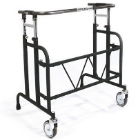 Wheeled pulpit frames for heavy duty use