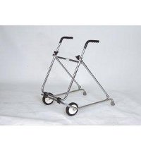 Rollators with two front wheels category