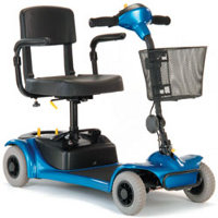 Class 2 four-wheeled scooters category