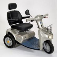Class 3 three-wheeled scooters category