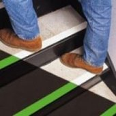 Slip resistant and high visibility treads category