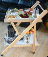 Wooden framed household trolleys category