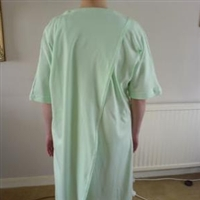 Open backed nightdresses and nightshirts category