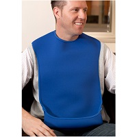 Bibs with troughs or pockets category